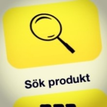 Nytt produktsök i uppdaterad app