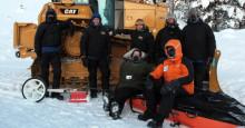 Caterpillar® leverer maskiner til Jordens koldeste rejse