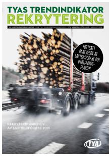 27 procent av tillfrågade åkerier behöver nyanställa lastbilsförare det närmaste halvåret