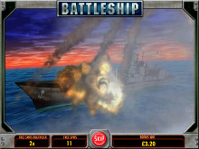 Slot game Battleship