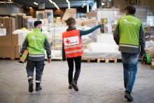 Bring är beredskapspartner till Röda Korset