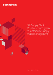 5th Supply Chain Monitor – from green to sustainable supply chain management