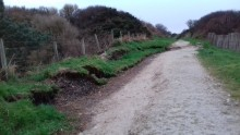 Survey scheduled for damaged Portknockie to Cullen cycleway and footpath