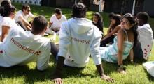 Fryshuset tillsammans med ungdomsambassadörer i Almedalen för att sätta fokus på unga
