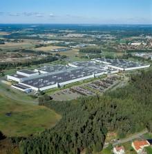 Skövde motorfabrik är Volvo Cars första klimatneutrala tillverkningsanläggning