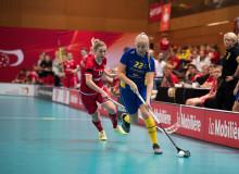 Storseger för U19-damlandslaget mot Schweiz