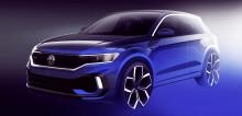 Volkswagen släpper designskiss på kommande T-Roc R