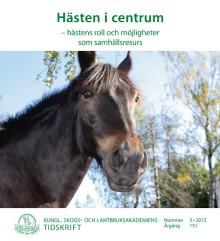 Hästen i centrum – ny skrift från KSLA