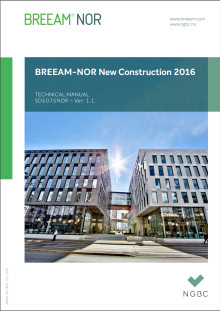 BREEAM-NOR 2016 versjon 1.1