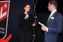 Andersson fick pris av Innebandyns kompetenscentrum - efter studie om varför tränare slutar