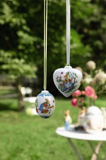 Hutschenreuther - Easter 2019 Porcelain egg and heart