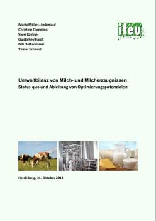 Umweltbilanz von Milch- und Milcherzeugnissen