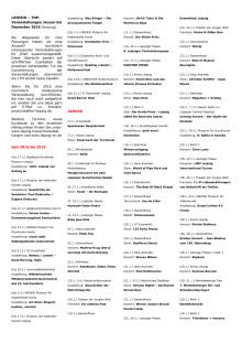 LEIPZIG - 500 TOP-Veranstaltungen_2016 - Kurzübersicht