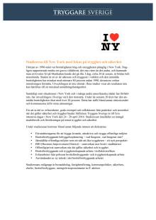 Program studieresa NY (24-28/4 2016)