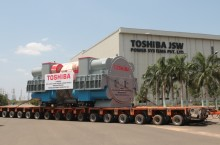 "Toshiba Ships First ""Make-in-India"" Super-critical Steam Turbine Generator from Chennai Facility"