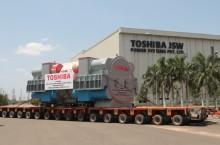 "Toshiba Ships First ""Make-in-India"" Super-critical Steam Turbine Generator from Chennai Facility"