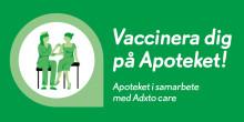 Apoteket erbjuder vaccinationer i Borlänge, Falun och Mora