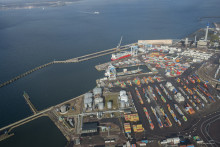 Helsingborgs Hamn ökade containervolymerna med 22 procent första halvåret 2017