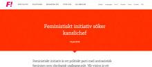 Feministiskt initiativ söker kanslichef
