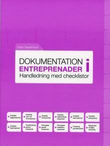 Ny bok: Praktisk handledning om dokumentation i entreprenader