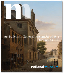 New edition of the Art Bulletin of Nationalmuseum Stockholm