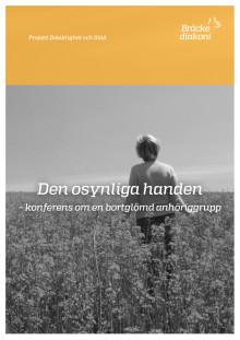 """""""Den osynliga handen"""" - konferens om en bortglömd anhöriggrupp"""