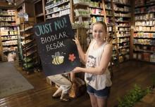 Cajsa Warg satsar på honung och bin under Pollineringsveckan