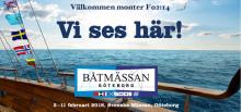 Vi ses väl på Båtmässan 3-11 februari?