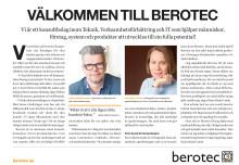 Berotec medverkar i Dagens Nyheter