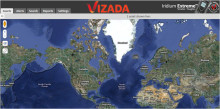 Webtjänst för Iridium 9575 - spårning och övervakning