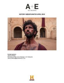 HISTORY HØJDEPUNKTER APRIL 2019