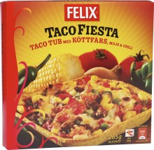 Nytt från Felix - Taco Fiesta Taco Tub ny färdig tacorätt i frysen