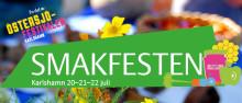 Pressinbjudan: Smakfesten  - den smakrikaste av årets nyheter i Östersjöfestivalen  börjar ta form