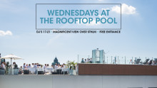 Premiär: Wednesdays at the rooftop pool!