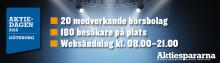 Idogen deltar på Aktiedagen i Göteborg 18 maj