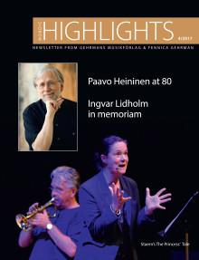 Nordic Highlights No. 4 2017 - Newsletter from Gehrmans Musikförlag & Fennica Gehrman