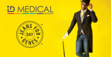 ID Medical wears jeans and raises £500 to help change lives