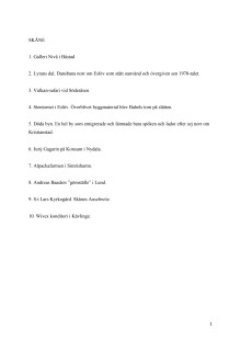 Nya Balla ställen i Skåne. Inkluderade i nyutgåvan av boken som ges ut 13 april 2015