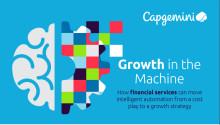 Bank- og finansvirksomheter som tar i bruk intelligent automatisering kan øke sin inntjening med  512 milliarder amerikanske dollar innen 2020
