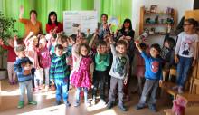 Kinder rennen für Bärenherz: Sponsorenlauf der Kindertagesstätte Joseph Haydn