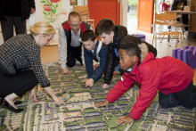 Planprogram för Drottninghög ställs ut på Biblioteket