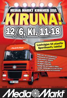 Annonsblad Pop up store i Kiruna endast den 12 juni 2014