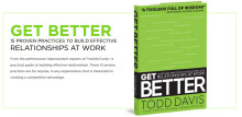 Ny bok från FranklinCovey: Get Better - 15 proven practices to build effective relationships at work