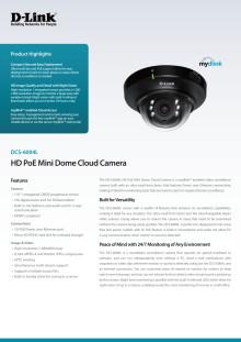 Produktblad - DCS-6004L