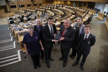 Parliament visitor experience wins vote of confidence from VisitScotland