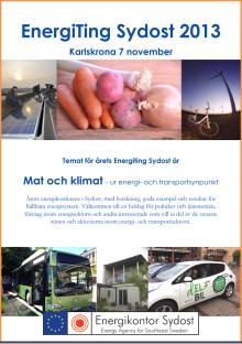 Program för EnergiTing Sydost 2013