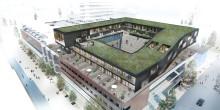 Exklusiva bostäder byggs ovanpå Umeågalleria