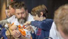 Talentenfabriek | Met Haai!TECH testen Antwerpse jongeren hun talent voor wetenschappen en techniek