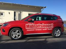 Utökat samarbete mellan SEAT och Midnattsloppet