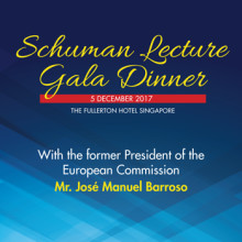 Eurocham: Last week to register for the Schuman Lecture Gala Dinner 2017